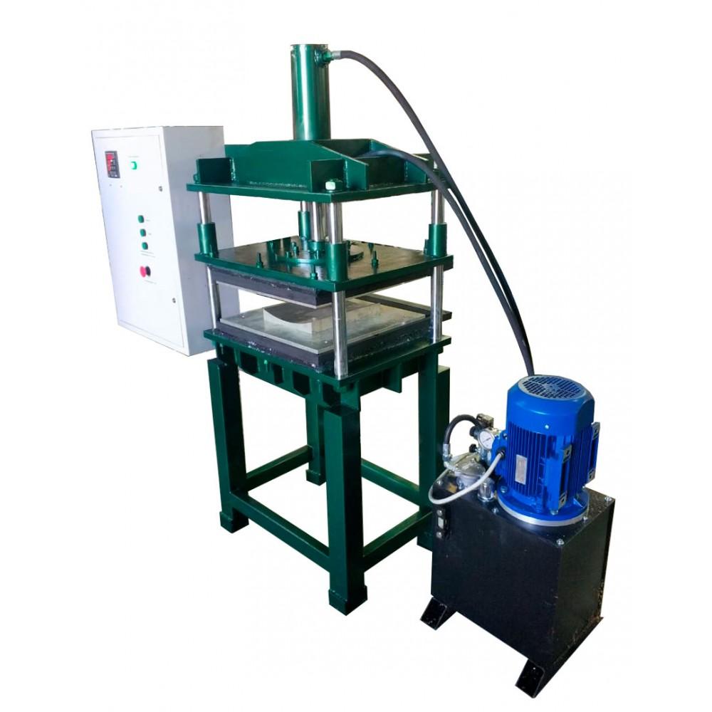 Электрогидравлический термопресс ЭГТП-500/10