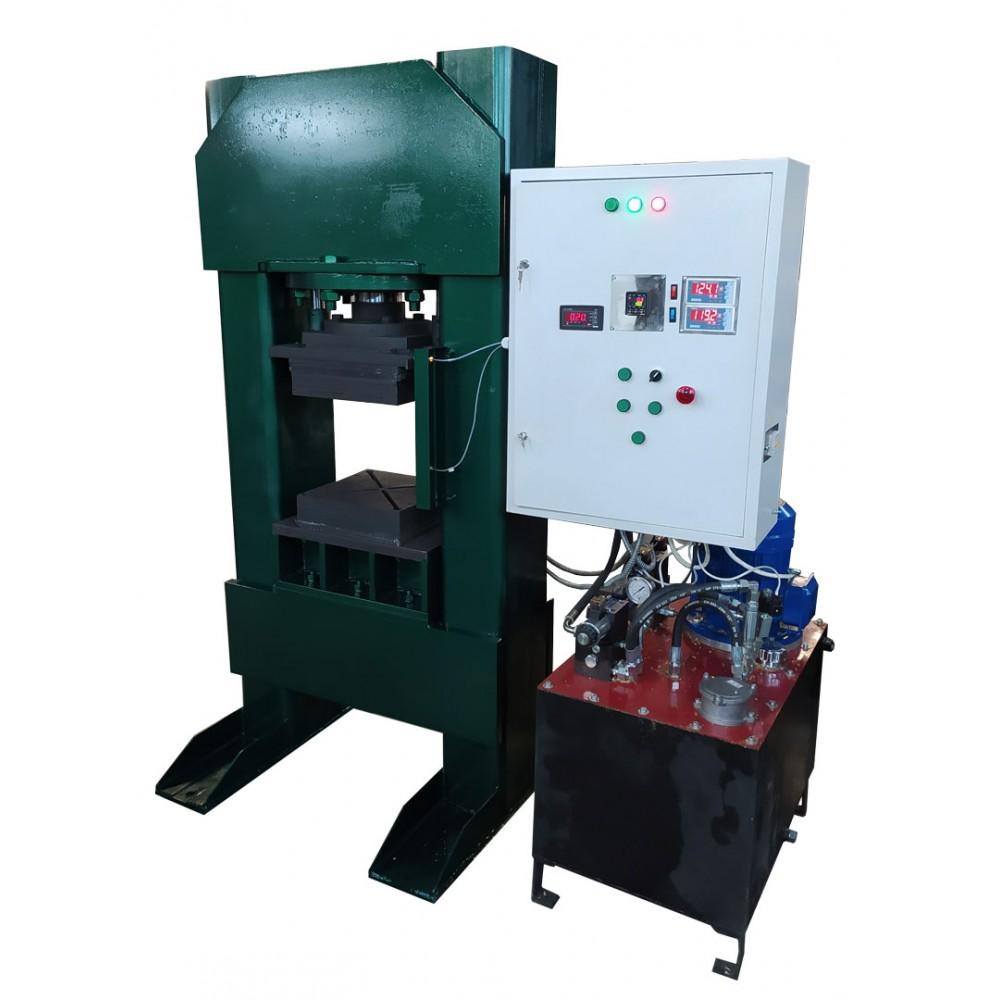 Электрогидравлический термопресс ЭГТП-500/100