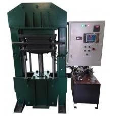 Двуярусный электрогидравлический термопресс ЭГТП2П-400/50